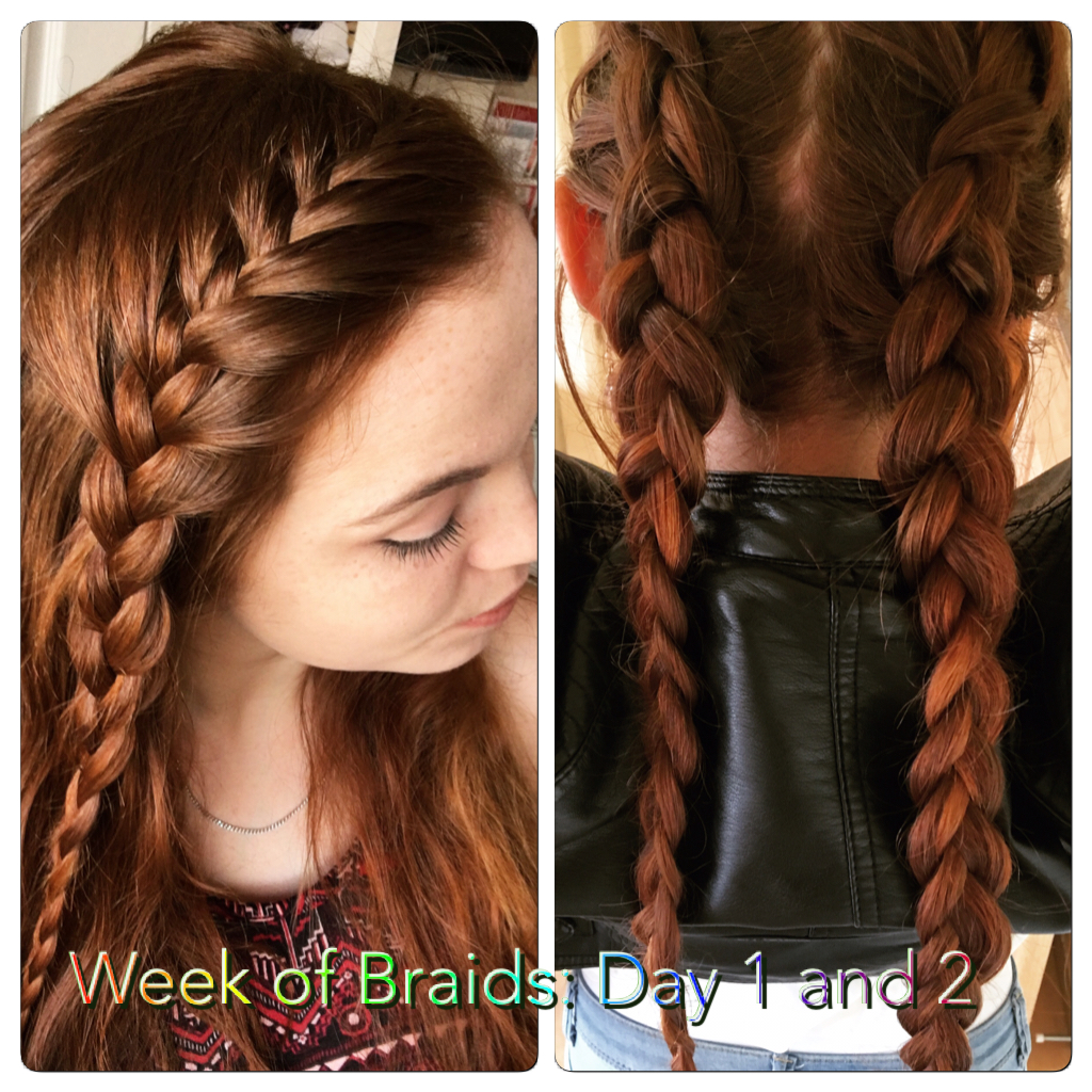 Week of Braids: Day 1 and 2