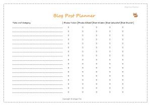 blog post planner image