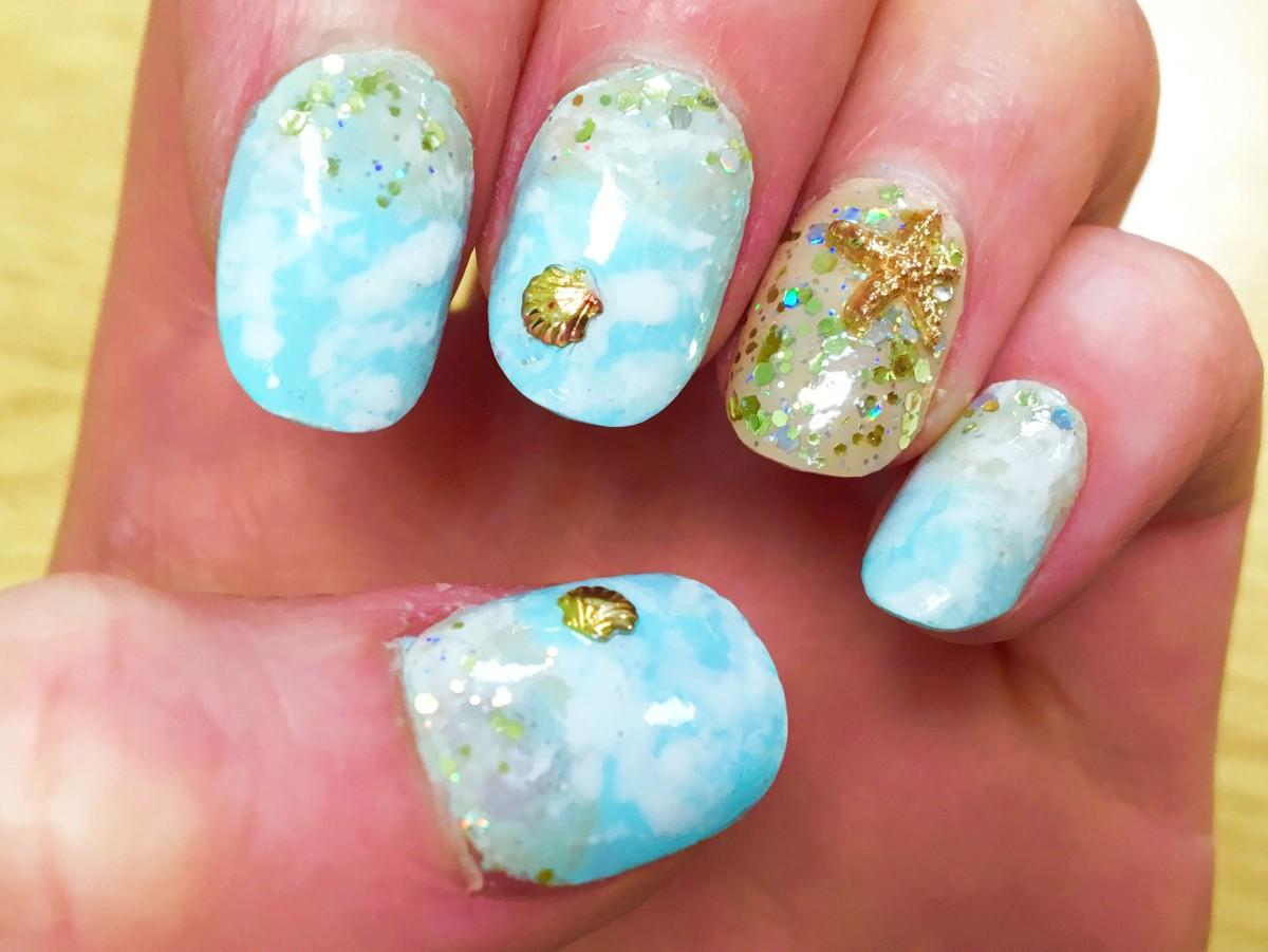 Perfect Beachy Nails