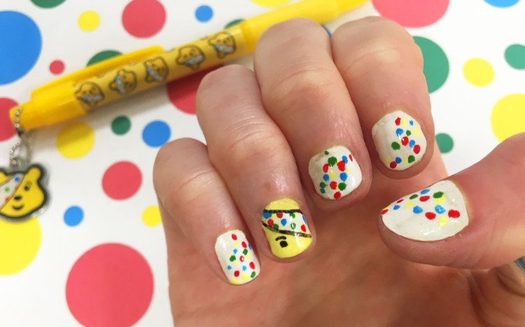 Pudsey Nails – Ginger Fox
